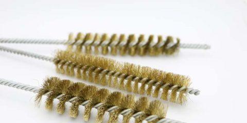 Double Stem Single Spiral Brush