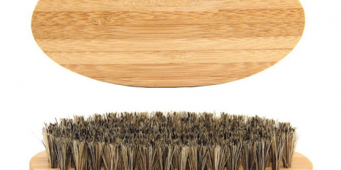 Horse Hair Wooden Cleaning Brush